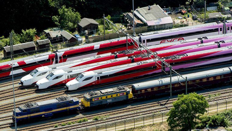 Van inspectie van de Fyra-treinen in de klassieke zin van het woord lijkt geen sprake te zijn geweest. Beeld anp