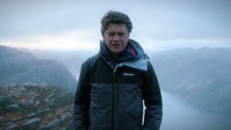 Beau van Erven Dorens in Noorwegen. Beeld null
