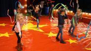 Kinderen De Kiem ontpoppen zich tot circusartiesten