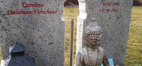 Spoor van vernielingen getrokken op begraafplaats Hoek
