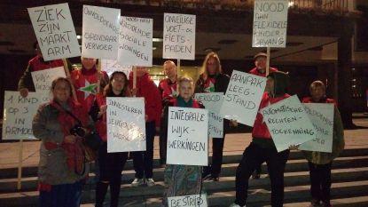 PVDA voert actie vlak voor ultrakorte gemeenteraad