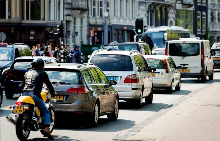 De luchtkwaliteit voldoet niet aan de nationale en internationale normen.  Beeld ANP