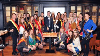 VIDEO. Miss België en 30 collega's stellen nieuwe website voor