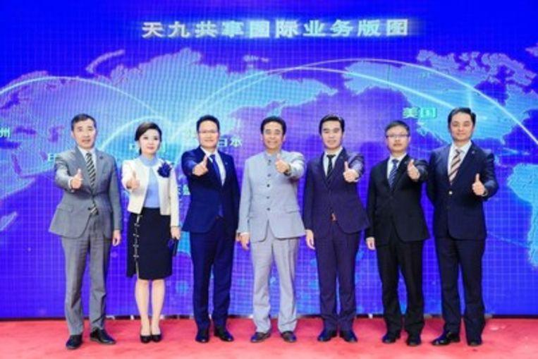 De Chinese holding mikt op een wereldwijde expansie en rekent daarbij op de hulp van Yves Leterme.