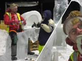 Beste ijskunstenaars ter wereld bouwen met 600.000 kilo ijs en sneeuw in Zwolle