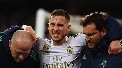 Eden Hazard pikkelt het stadion uit