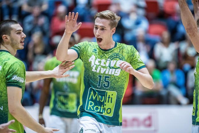Orion won zaterdag met 3-1 van Talentteam Papendal. Foto Jan van den Brink