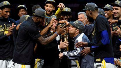Golden State verovert derde NBA-titel in vier jaar, LeBron speelde laatste drie duels met een breukje in de rechterhand