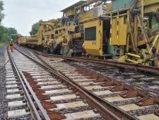 Geen trein maar bus en omrijden bij vernieuwen spoor in Mariënberg en Gramsbergen