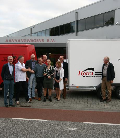 Gloednieuwe aanhanger voor Stichting Oost-Europa Enter-Rijssen-Wierden