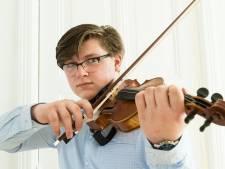 Jong talent Xander Wassenaar (15) uit Wagenberg: 'Een viool moet je spel aankunnen'