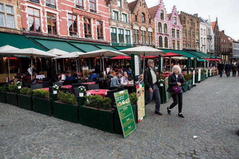 Het dakenspel, de terrasjes: in Brugge valt zoveel te zien.