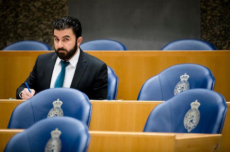 Selçuk Öztürk in de Tweede Kamer Beeld anp