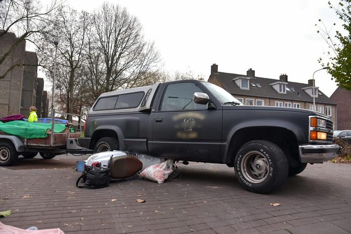 Ongeval op de Kwaadeindstraat in Tilburg.