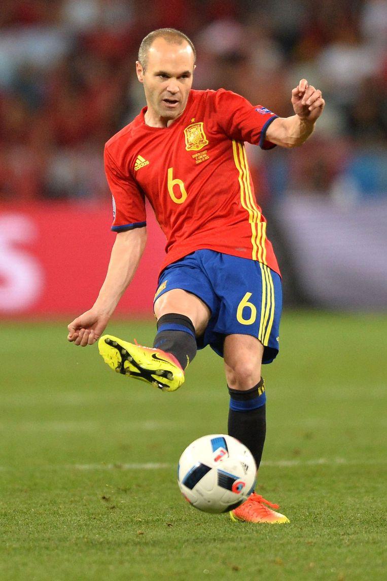 Andres Iniesta. Beeld photo_news