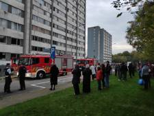 Vandaal spuit brandblusser leeg, woontoren Nieuw Gent ontruimd