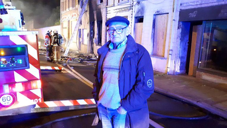 De woning van Willy De Cubber is nog niet hersteld en ze is alweer getroffen door een brand bij de buren.