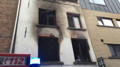 Studentenpand uitgebrand: vijf studenten kunnen tijdig ontsnappen