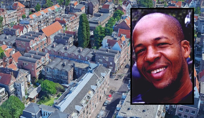 De Willemsstraat en omgeving in Amsterdam, de plek waar Patrick van Dillenburg op 2 januari 2002 verdween. Hij zou vermoord zijn door Helmonder Ad  K.