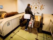 Maastunnel kort afgesloten voor fietsers na val van roltrap