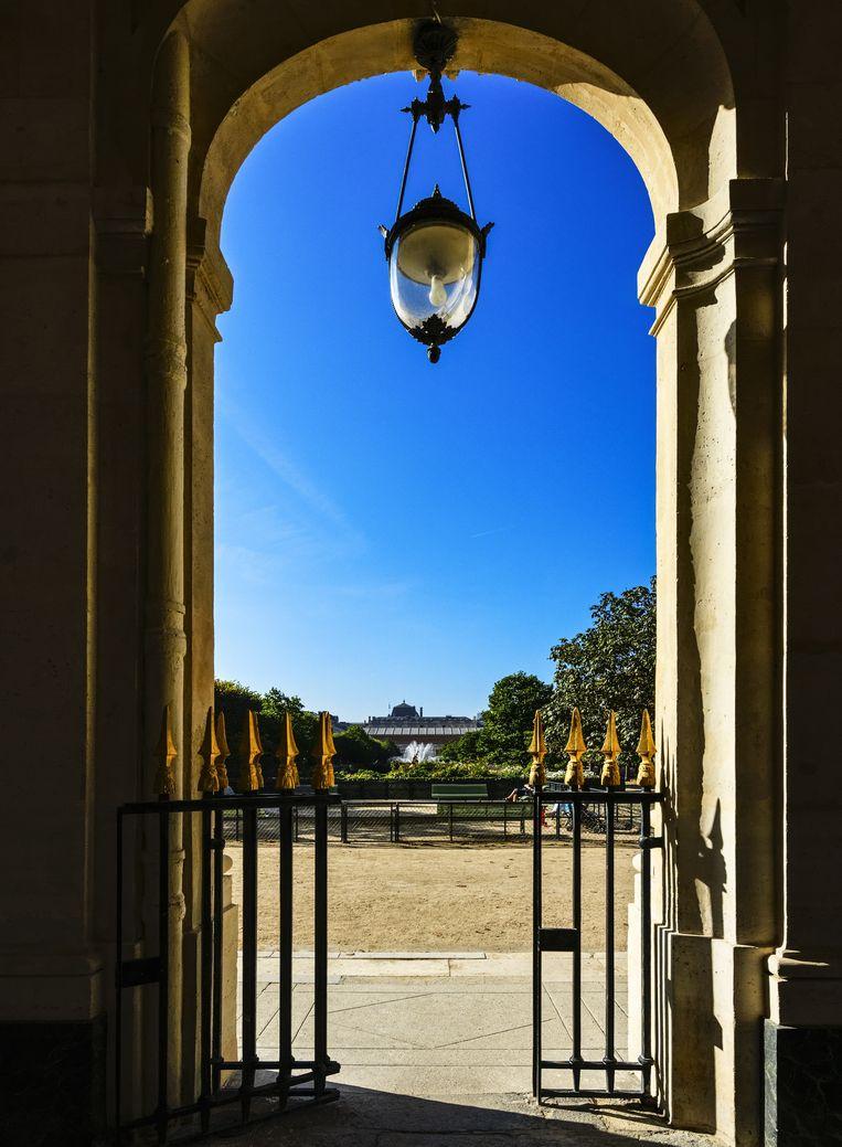 De tuin van het Palais Royal. Beeld Getty