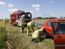 File op N50 door ongeluk met drie auto's