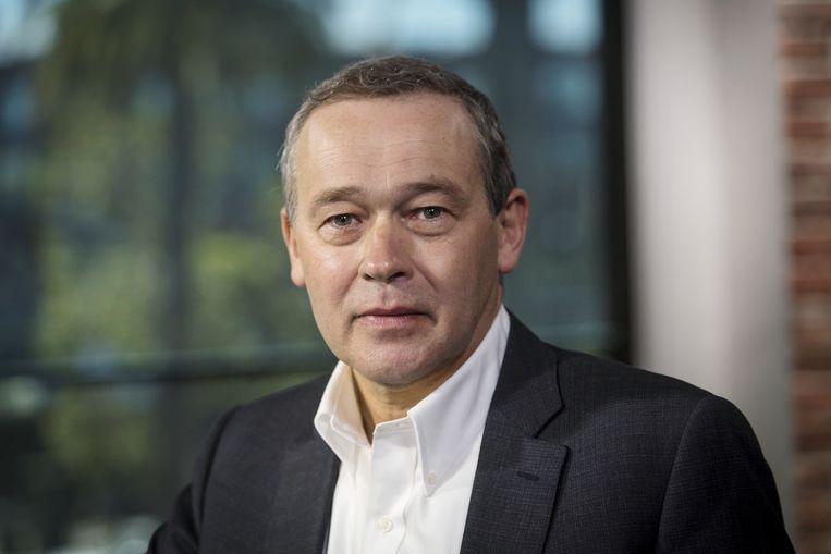 Peter Rawlinson, ceo en oprichter van de nieuwe automaker Lucid Motors. Rawlinson stond tien jaar geleden ook aan de wieg van de Tesla Model S.  Beeld Bloomberg via Getty Images