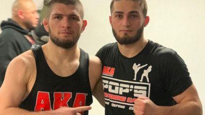 """Het 'kleine broertje' van wereldtopper Khabib is een halve Gentenaar: """"Ik wil België titel bezorgen in UFC"""""""