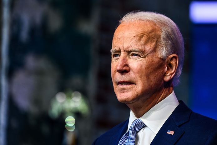 Toekomstig Amerikaans president Joe Biden.