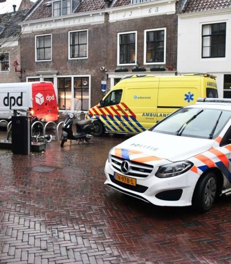 Voetganger gewond bij aanrijding met bestelbus in centrum Middelburg