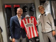 Kronkelende staafjes en een nieuwe winkel bevestigen de almaar sterkere band tussen PSV en Eindhoven