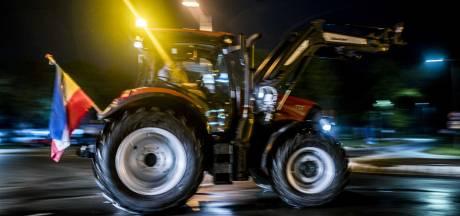 Files worden snel langer door boerenprotest