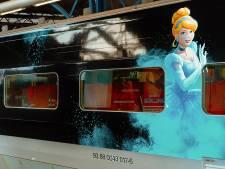 Thalys viert nieuwe lijn Rotterdam-Disneyland met sprookjestrein
