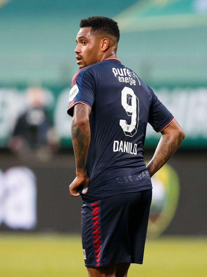 Danilo maakte zaterdag zijn debuut voor de Olympische ploeg van Brazilië.