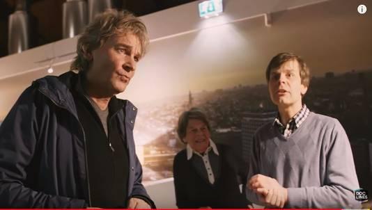 Kees Momma met DWDD-presentator Matthijs van Nieuwkerk