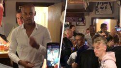 """Bekijk hier de bewogen speech van Kompany op café, waar hij 'tournée generale' geeft: """"Blijf ons steunen!"""""""