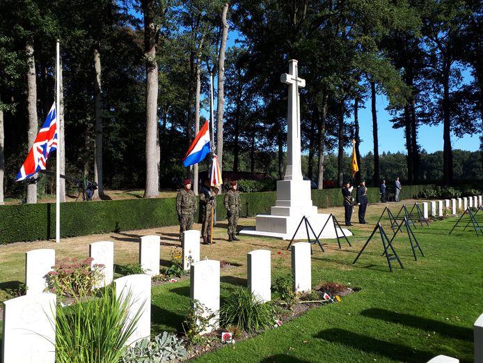 De Airborneherdenking in Oosterbeek.