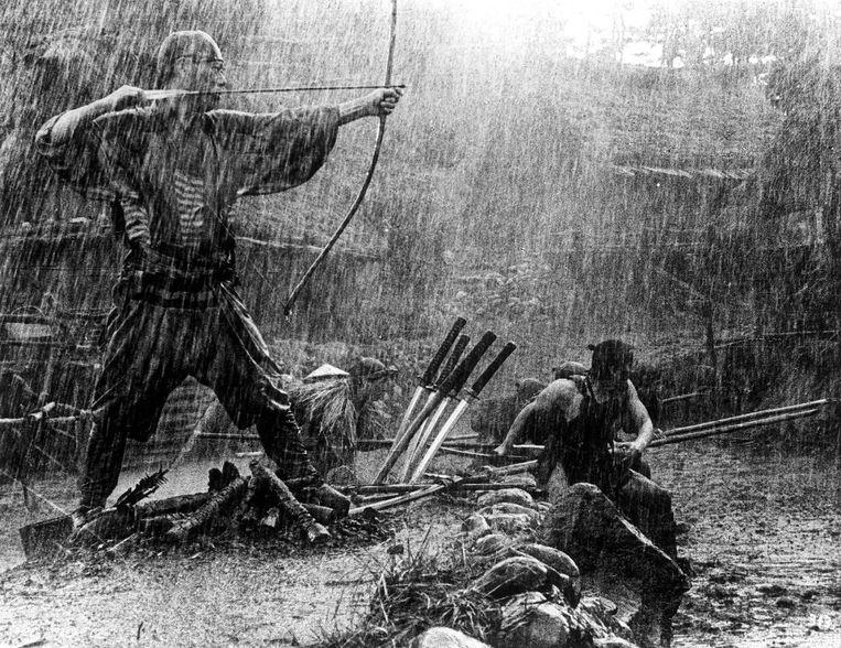 Still De zeven samurai - Akria Kurasawa Beeld