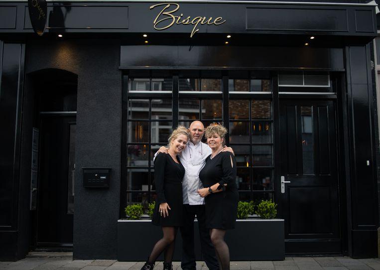 Sabine, Jan en Corry Gaastra. Beeld