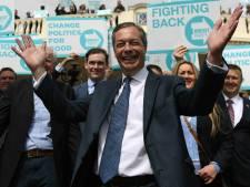 Anti-EU-politicus Nigel Farage vindt het tijd voor een comeback