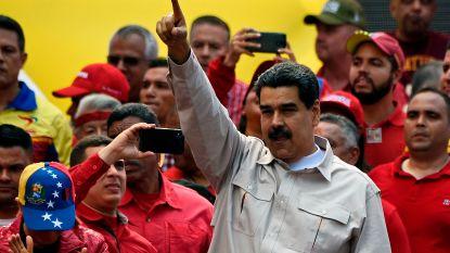 Venezolaanse president Maduro vraagt Mexico en Uruguay om te bemiddelen