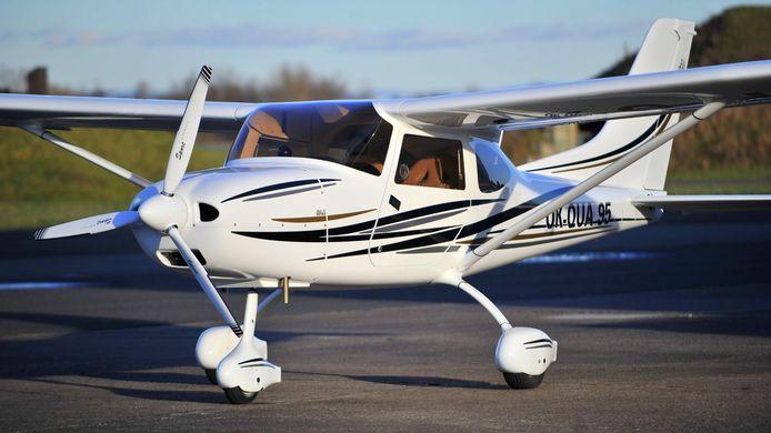 Een vergelijkbaar vliegtuig met de twee die in botsing kwamen. Foto ter illustratie.