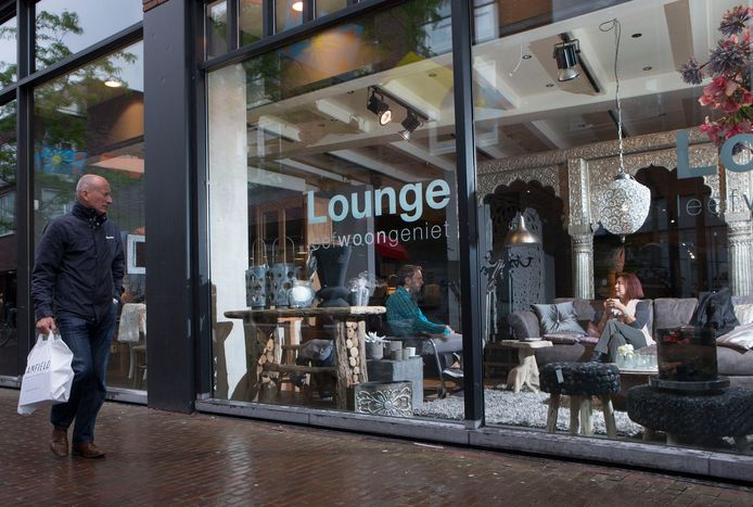 Lounge Interieur, een van de vertrekkers van de Achterdoelen.