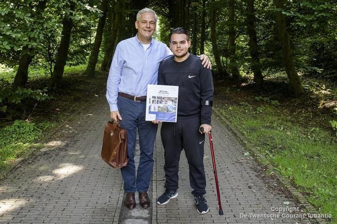 Gerard Lenferink en Murad Weiner.