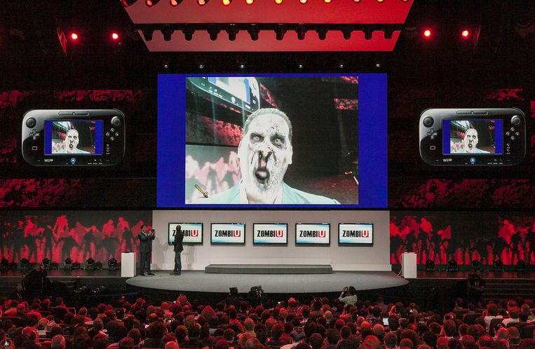 Ceo van Nintendo America, Reggie Fils-Aime als zombie...