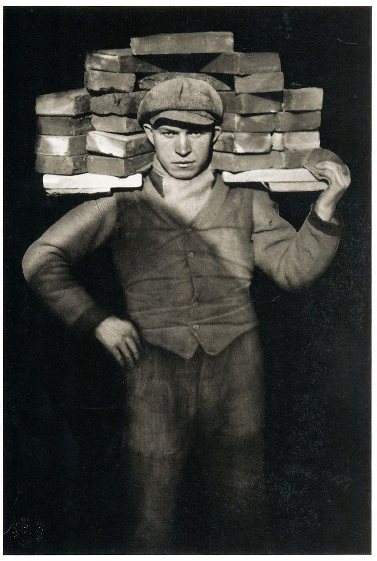 Der Mauer, 1928. 'Hij inspireert mij telkens weer.' Beeld August Sander Archiv Köln / Pictoright Amsterdam