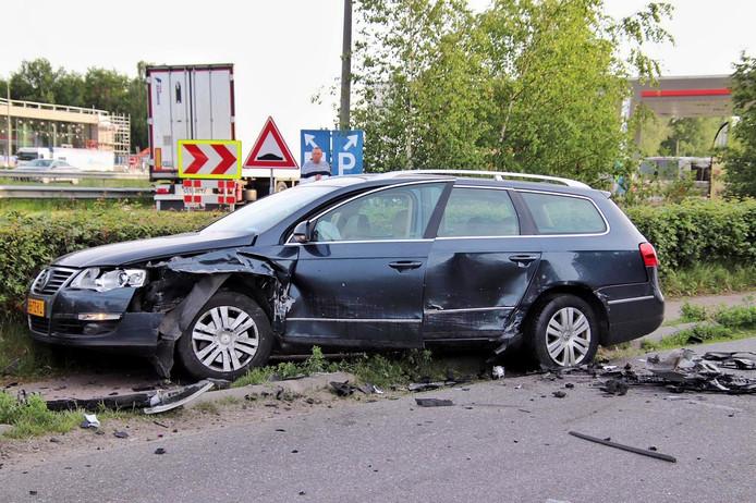 Drie gewonde en ravage Bergen op Zoom