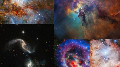 De 5 mooiste ruimtefoto's van 2018