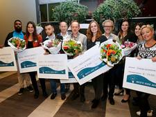 Vijf van de zestien plannen Beste Idee van Waalwijk gehonoreerd met geldprijs