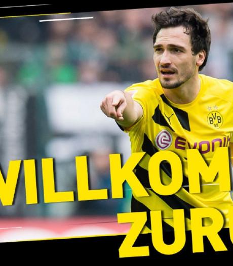 Mats Hummels de retour à Dortmund